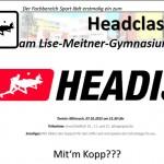 HEADCLASH und dann LMG Lauf